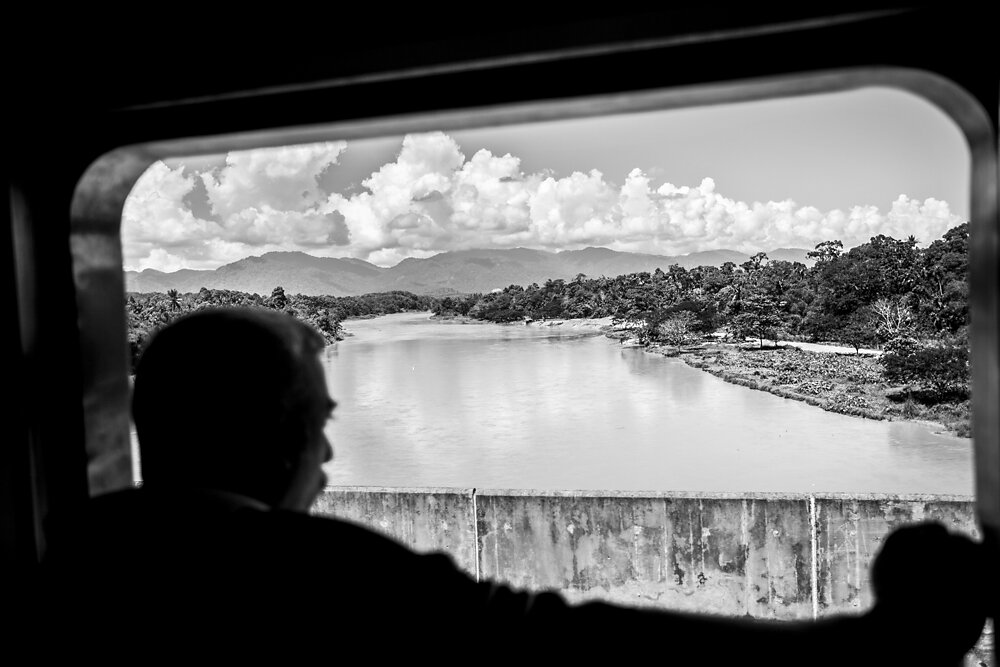 Malaysia, 2012. A view from a train on its way from Kuala Lumpur to Butterworth.