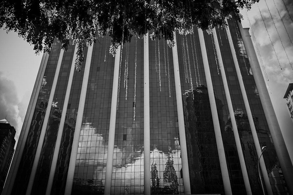 Malaysia, 2012. A business building in Kuala Lumpur.