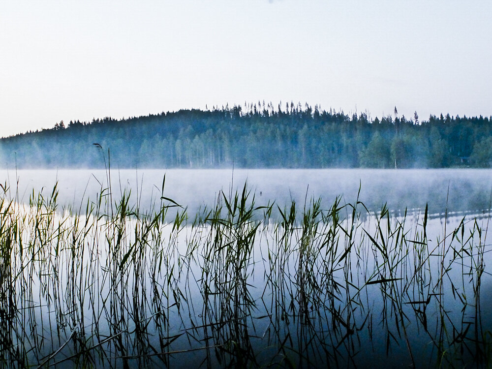 Midsummer night in Kuopio, Finland, 2012.