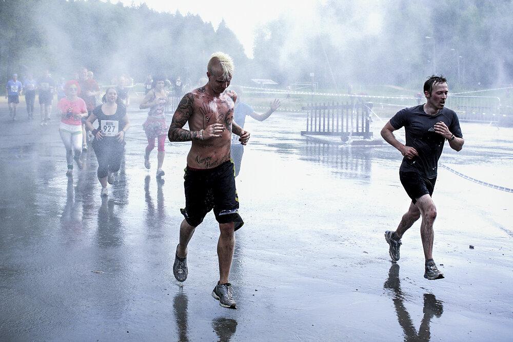 Extreme Run in Vantaa, Finland, 2010.